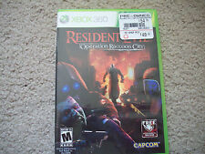 XBOX 360 Resident Evil Operation Raccoon City rated Mature 17+