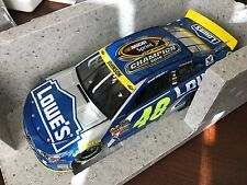 2016 Jimmie Johnson Lowes 7x Sprint Cup Champion Champ ARC car 1 of 4213