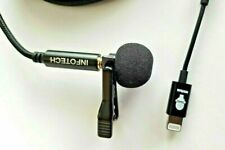 Professionell Aufnahme Mikrofon Für IPHONE 11, X, 8,7, 6 Plus Mit 4 M Kabel