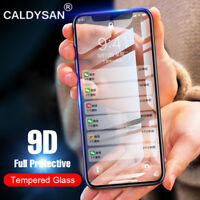 9D Full Coverage Tempered Glass Film Screen Protector for iPhone 8 8 Plus 7 X 6S