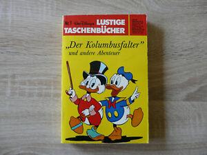 """LTB Lustiges Taschenbuch Nr. 1 """"Der Kolumbusfalter"""" und andere Abenteuer, 1977"""
