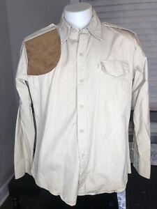 Bob Allen & Past corp Mens Large Shooting Shirts - Plus Kevins Plantation Shirt