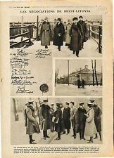 Treaty of Brest-Litovsk Soviet Russia Russie Bolshevik government  1918 WWI