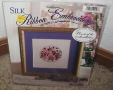 BUCILLA SILK RIBBON EMBROIDERY KIT~~ FLOWER OF THE MONTH~~FEBRUARY~~NIP