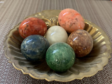 (6)-  Marble Eggs In A SEIDEN SHELL DISH!
