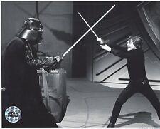 Official Pix Luke Mark Hamill Darth Vader 8x10 unsigned B&W Photo Star Wars ROTJ