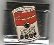 Campbell's Soup Can  Casa D'Oro Licensed Italian Charm, 9 mm Link