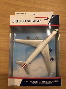 British Airways BA6264G - Boeing 747-400 Die Cast Metal Aeroplane With Stand