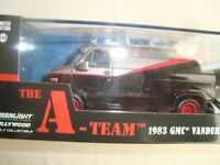 GREENLIGHT COLLECTIBLES 1/43 GMC VANDURA A TEAM 1983 AGENCES TOUS RISQUES