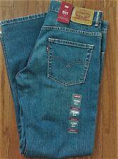 Levi's Boy's New 511 Size 10 25x25 Blue Jeans Stretch Slim Hip-Ankle LoRise 0227