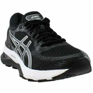 ASICS Gel-Nimbus 21  Womens Running Sneakers Shoes    - Black - Size 8.5 B