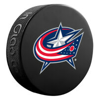 Columbus Blue Jackets NHL Team Logo Basic Souvenir Hockey Puck