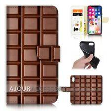( For iPhone XR ) Wallet Flip Case Cover AJ40258 Chocolate