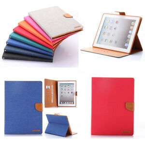 Case for Apple iPad 234 Luxury Premium Cover Wallet iPad 2nd 3rd 4th Generation