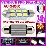 AMPOULE NAVETTE LAMPE A LED SMD C5W ANTI ERREUR XENON 31 36 39 42MM POUR VOITURE