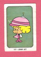 Space Kidettes Jenny Jet Vintage 1960s Hanna Barbera Cartoon Card  Spain #117