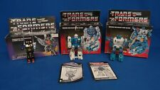 1984 Transformer Lot 3 Kickback, Twin Twist, Topspin Insecticon & As Shown