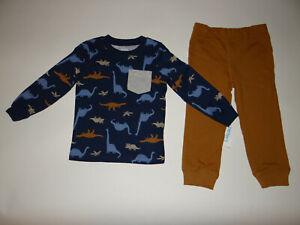 NWT, Toddler boy clothes, 3T, Carter's Dino Jogger set