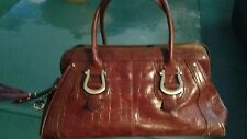 LIZ CLAIBORNE LEATHER VINTAGE HANDBAG