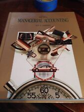 Managerial Accounting Concepts for Planning, Control, Decision Making Ray H Y4
