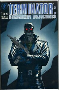 TERMINATOR: SECONDARY OBJECTIVES #1-4 (1991 Dark Horse) FULL RUN COMPLETE SET