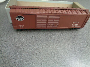 Downs Model R.R. Equipment S Scale N.Y.C. Double Door Box Car Ex.Cond. In Or. Bx