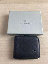 NWD Victorinox Altius Edge Weyl Zippered Clutch Wallet Black