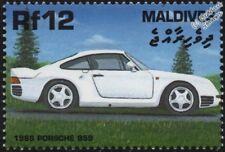 1988 PORSCHE 959 Mint Automobile Sports Car Stamp (2000 Maldives)