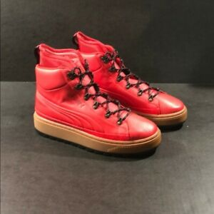 Puma the ren boot Wtr Color Barbados cherry  New without box A must have
