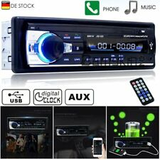Bluetooth Car Autoradio 1 DIN MP3/USB/SD/AUX-IN FM Radio Player NEU