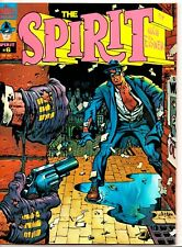 THE SPIRIT #6 Warren Magazine WILL EISNER Glob THE WEDDING Showdown 1975 NM