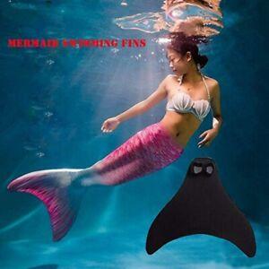 Meerjungfrau Flossen Kids Erwachsene Schwanz Schwimmflosse Monoflosse Schwimmen