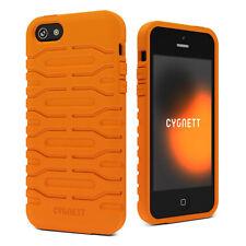 Cygnett Bulldozer Silicon Protective Skin Case Cover for Apple iPhone 5 5s SE Orange