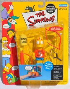 Playmates The Simpsons Kamp Krusty Bart World Of Springfield Interactive Figure