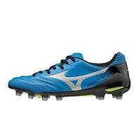 Mizuno MONARCIDA NEO Japan Men's Soccer Shoes White Blue Football P1GA192027