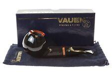 Vauen Fuego F132 Tobacco Pipe - Black Smooth