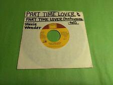 "STEVIE WONDER Part Time Lover (Vocal) b/w (Instr.) 1808TF 7"" 45rpm Vinyl VG+"