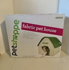 3pc Petshappe Portable Home/Travel Green Soft Padded Fabric Pet House,WIC355710