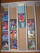 1985 1986 1987 Donruss Baseball Approximately 1518 Card Lot