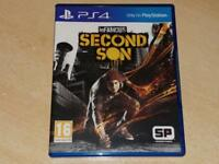 Infamous Second Son PS4 Playstation 4 **FREE UK POSTAGE**