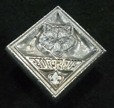 """Vintage Craftool Co.USA 1"""" 3-D leather stamp: Cub Scouts badge. No ID number"""