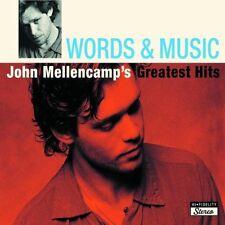 JOHN MELLENCAMP - WORDS & MUSIC: GREATEST HITS 2CD SET (2004)