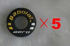 kiTki black BABOLAT aero tennis racquet vibration dampener shock absorber X 5