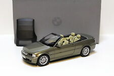 1:18 KYOSHO BMW 3er e46 Convertible individual dealer New chez premium-MODELCARS