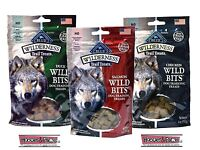 Blue Buffalo Wilderness Wild Bits Dog Treats Healthy USA made Grain Free Bulk