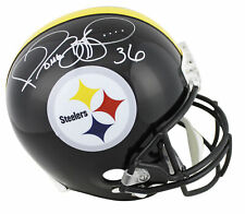 Steelers Jerome Bettis Authentic Signed Full Size Rep Helmet BAS Witnessed
