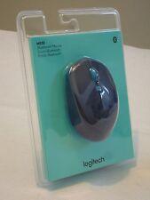 *☛ NEW IN BOX ☚* Logitech M535 Wireless Bluetooth Compact Mouse BLUE - PC MAC