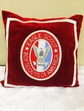 NEW Eagle Scout Buillon Patch design 14 x 14 Pillow