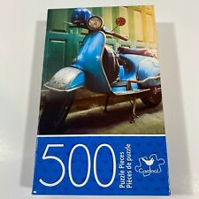 Cardinal Jigsaw Puzzle 500 Piece 11x14 VINTAGE SCOOTER Brand New Sealed Box