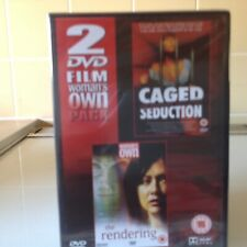 CAGED SEDUCTION / THE RENDERING DVD NEW & SEALED